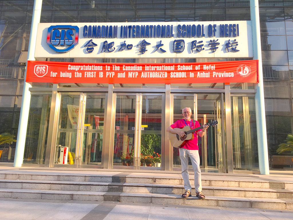 Don Ablett Voyage Air At Summer Camp In Hefei China