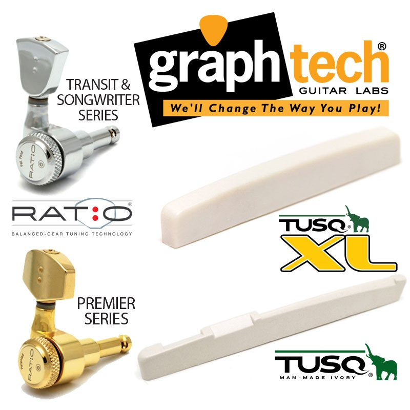 Graph tech upgrade options available on all models