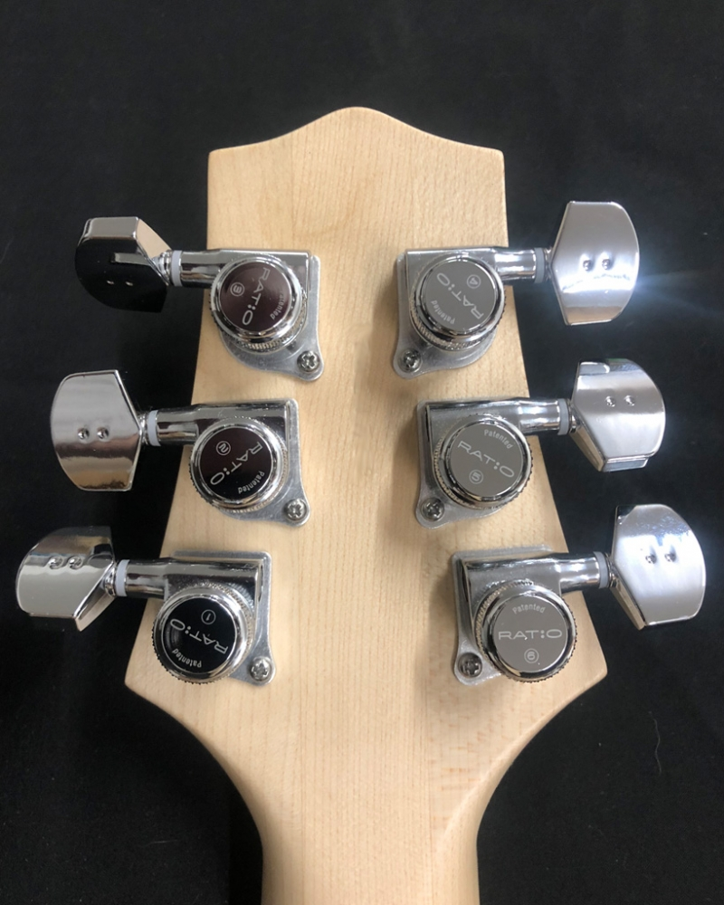 VET 2SBBDLX Headstock Back Locking Ratio Tuners Upgrade